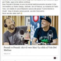 Pezzali vs Pezzali: chi è il vero Max ? La sfida al Volo del mattino